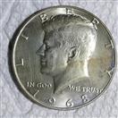 1968 KENNEDY HALF DOLLAR
